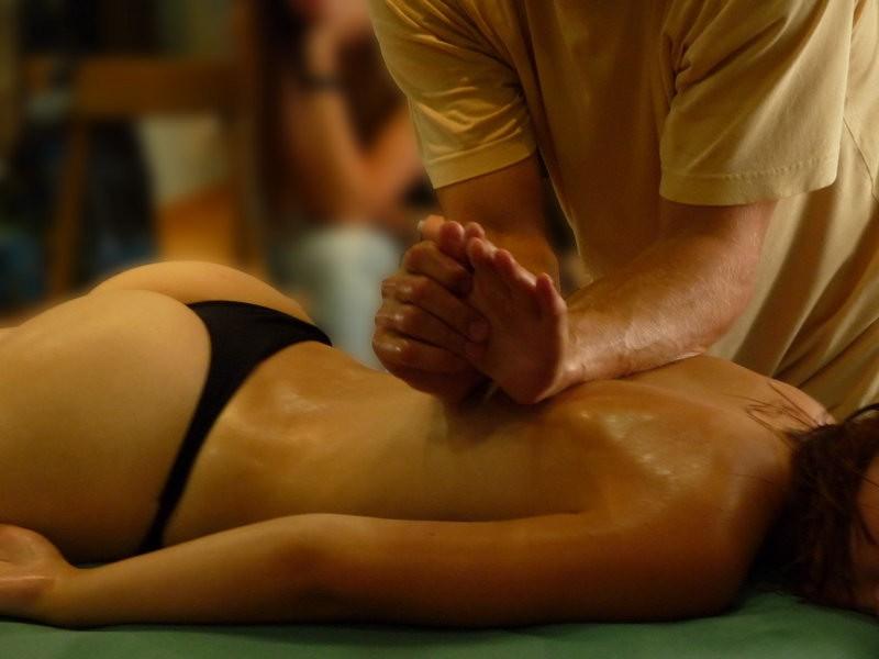 Точечный массаж грудь 1 фотография